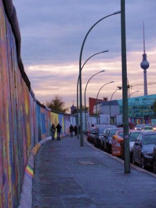 East Side Gallery & TV tower