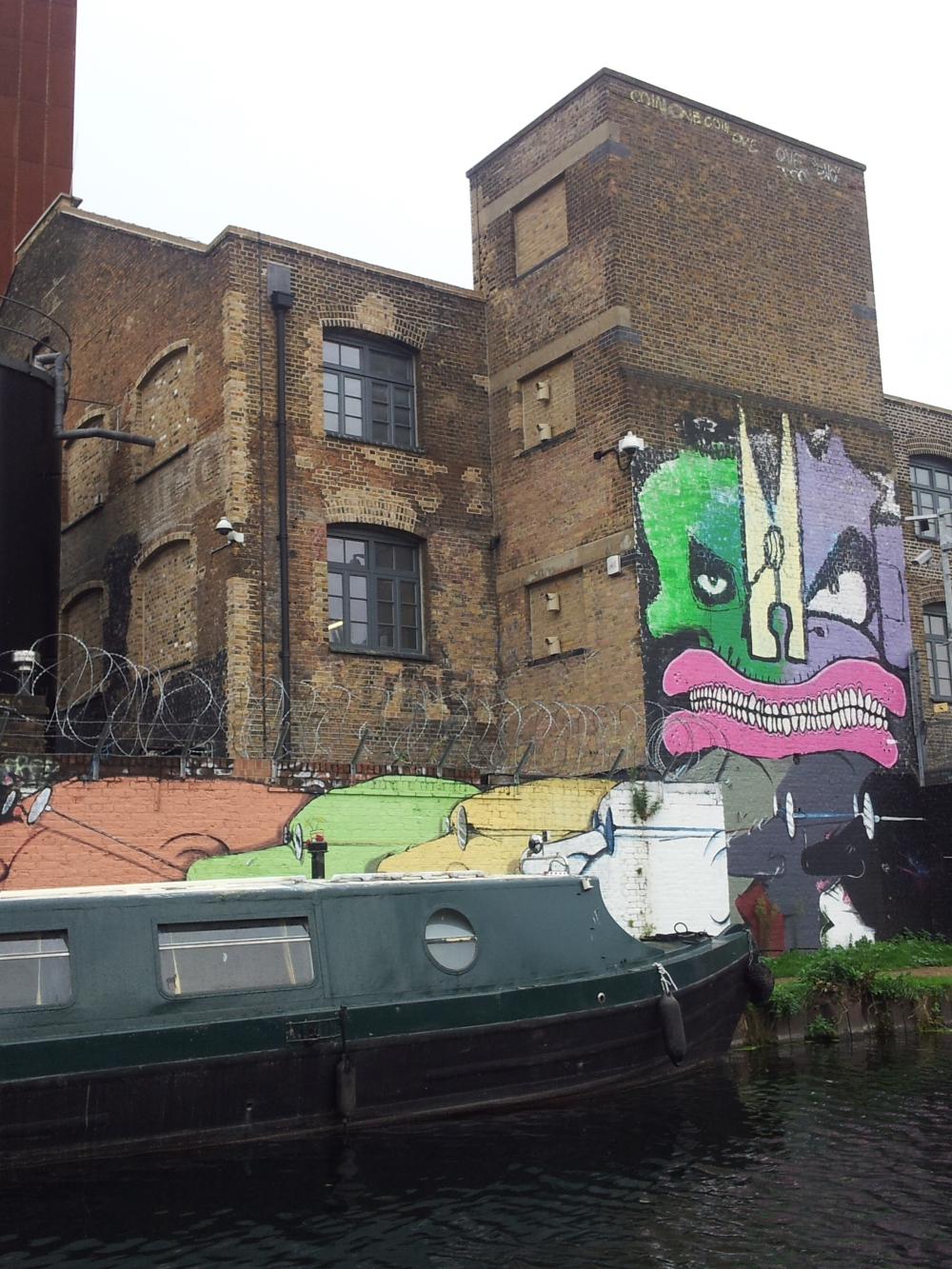 Hackney Tours Burning Candy & canal boat