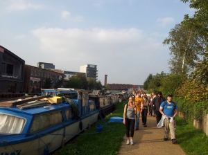 As these German students found, we've everything from wild woodlands to boat communities in Hackney. Dull it is not!