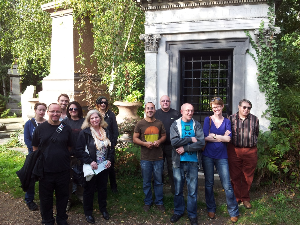 Group at Abney Mausoleum