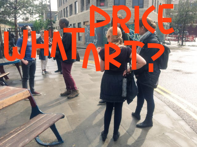 Hackney Tours What Price Art Hackney Wick for Antiuniversity copy