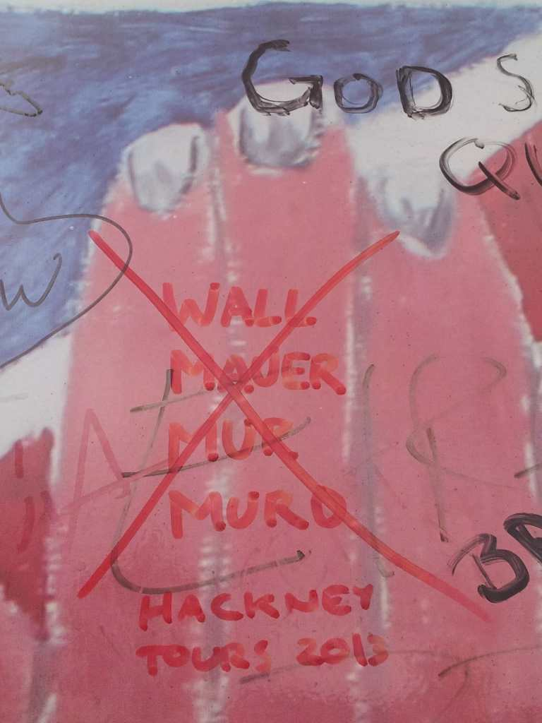 Hackney Tours on Belfast Peace Wall small