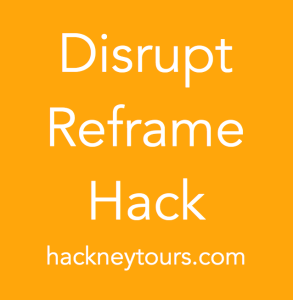 Disrupt Reframe Hack orange block