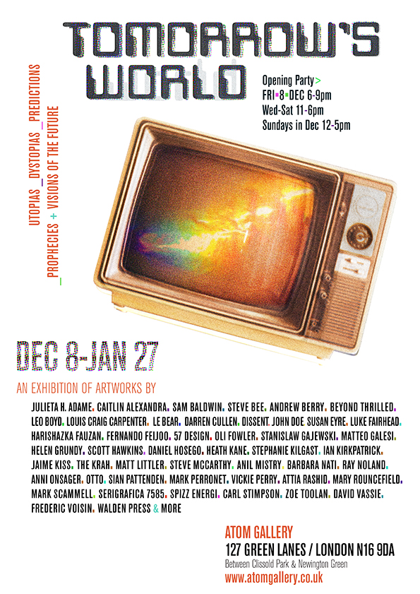 Tomorrows-World Atom Gallery flyer