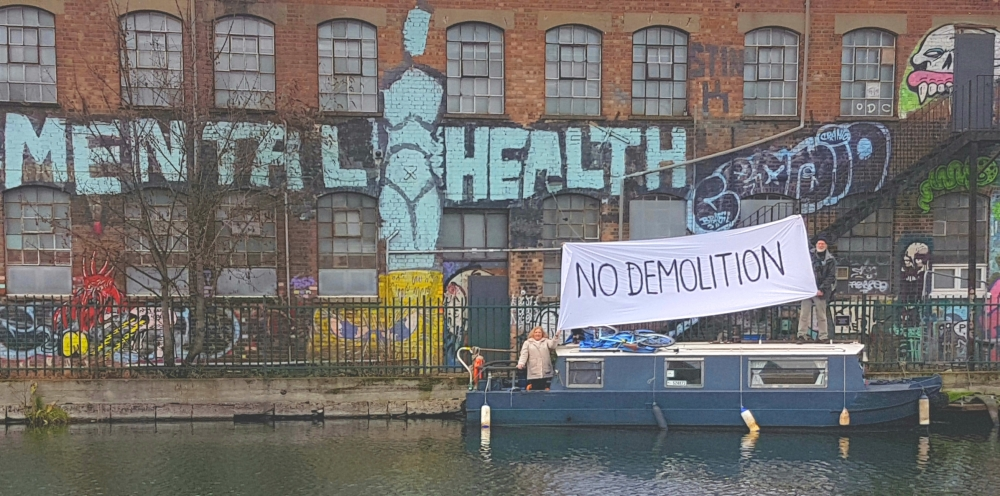 Save Hackney Wick Vittoria Wharf 'Love In'