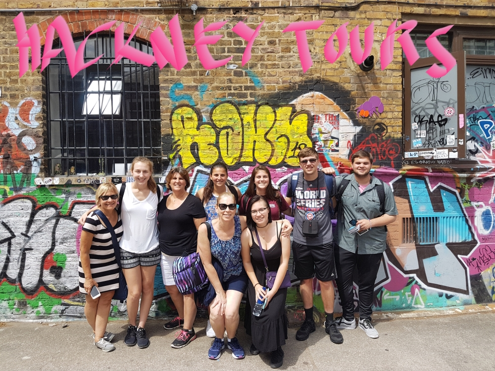 Street Art group shot Star Yard Brick Lane good small