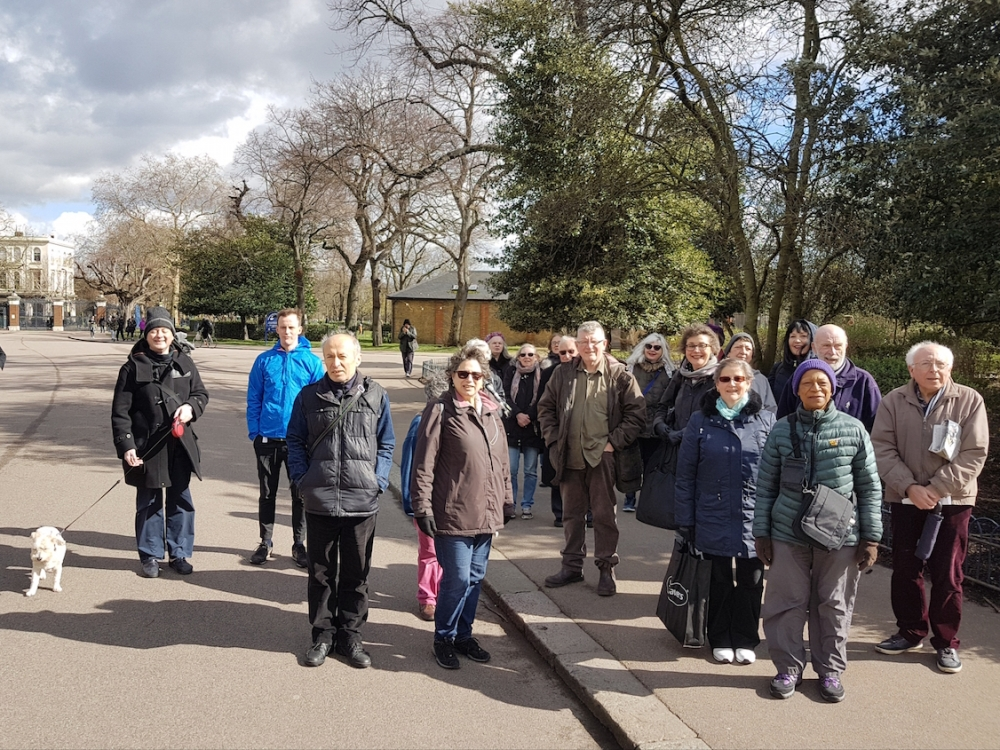 Hackney Council group shot walk Victoria Park small
