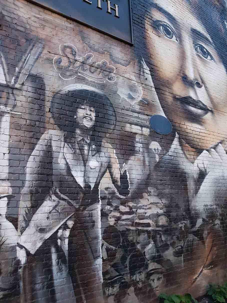 Sylvia Pankhurst mural Lord Morpeth small
