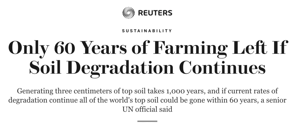 60 years of top soil headline