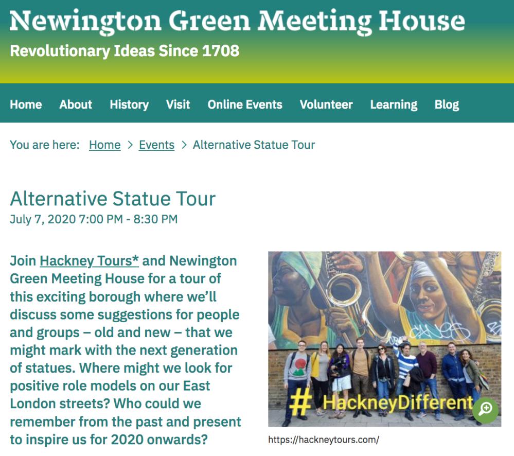 NG Alternative Statue tour screenshot